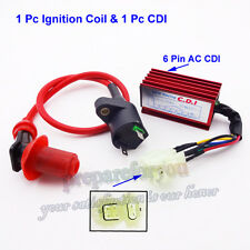 Racing Ignition Coil CDI Box GY6 50 125cc 150cc Engine ATV Go Kart Moped Scooter