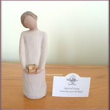 SPIRIT OF GIVING FIGURINE FROM WILLOW TREE® ANGELS FREE U.S SHIPPING