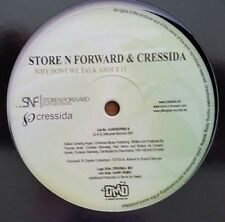 "Store N Forward & Cressida ""Why Dont We Talk About It"" * AGRDEEP001-6"