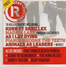 (CN361) 100% Volume, Rocksound CD #155 - Dec 2011 CD