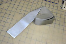 "3m sew on reflective tape 2"" wide 9 ft long silver safety clothing hat cap"