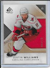 07-08 SP Game Used Justin Williams Gold # 82 #d/100