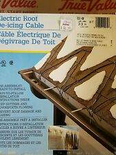roof de-icing cable  80' Roof & Gutter Cable, Includes Clips & Spacers   378466