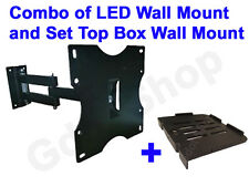 LCD / LED / PLASMA TV Swivel Type Movable Wall mount / Stand and STB Stand