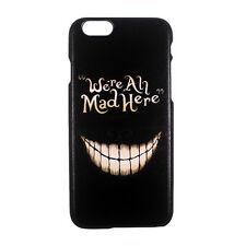 """Alice in Wonderland Mad Cheshire Cat Back Case Cover for Apple iPhone 6 4.7"""""""