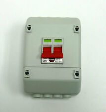 Wylex REC2-1659 100A 2 Pole Switch with Enclousure to suit Metal Tails