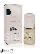 Holy Land Cosmetics Alpha Complex Eye Contour Gel 20ml Care And Treat Eye Area