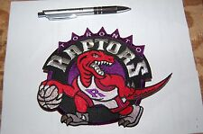 "Toronto Raptors 7"" Large Jacket Logo Patch crest Basketball"