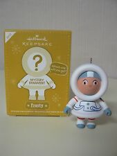 Hallmark Ornament 2012 FROSTY MYSTERY ORNAMENT Astronaut Frosty White Suit NEW