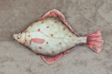New fish pillow FLOUNDER stuffed novelty cushion pillow soft toy 41 cm