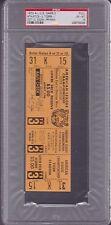 1972 FULL Ticket ALCS Game 5 PSA 6 ex/mt Detroit TIGERS / Oakland A'S