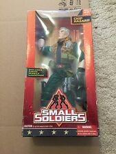 "1998 Small Soldiers Commando Elite Chip Hazard 12"" Kenner Action Figure New Box"