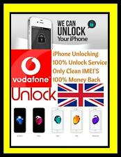VODAFONE UK IPHONE 7 7 PLUS UNLOCKING SERVICE NO SIM REQUIRED