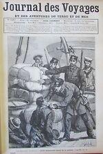 JOURNAL DES VOYAGES N° 537 de 1887 RECIT OFFICIERS GUERRE SECESSION AMERIQUE