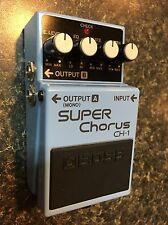 Boss CH-1 Super Chorus Guitar Effect Pedal