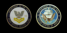 US NAVY PETTY OFFICER SECOND CLASS E5 CHALLENGE COIN MILITARY COLLECTIBLE COINS