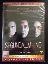 Segunda Mano Filipino Dvd