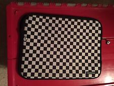 Yak Pak Laptop Case Bag Computer Sleeve Checkerboard Pattern