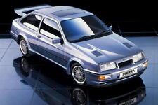 Ford Sierra RS Cosworth large retro promo poster