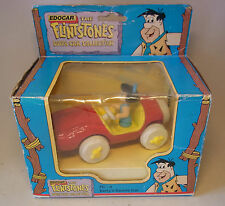 Vintage 90s Toy Edocar Hanna Barbera Bettys Sports Car Feuerstein Flintstones