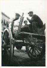 PALERME c. 1940 - Charretiers Sicile Italie - DIV113