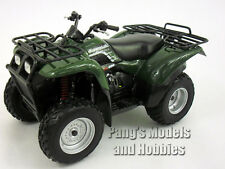 Kawasaki Prairie 400 ATV Quad 1/12 Scale Diecast Metal and Plastic Model - GREEN