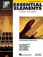Essential Elements for Band Bk. 1 : Electric Bass (1999, Paperback)