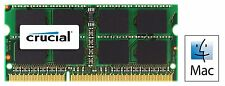 Crucial 4GB DDR3 1066 MHz PC3-8500 Sodimm Memory Apple Mac Book  Pro CT4G3S1067M