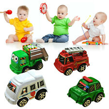 New 6pcs Classic Boy Girl Truck Vehicle Kids Child Toy Mini Small Pull Back Car