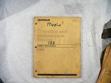 CAT Caterpillar 345B OPERATION AND MAINTENANCE MANUAL 4GS 9GS SEBU7029