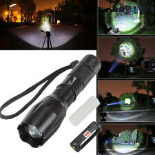 UltraFire 2000LM CREE XM-L T6 LED 12W Lampe Torche Torch Zoomable For 18650/AAA