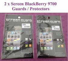 Clear Durable Anti-Scratch Clear Screen Protector Blackberry BB9700 NEW  QTY=2