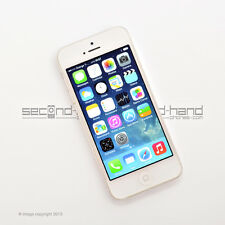 Apple iPhone 5 16GB White/Silver Factory Unlocked SIM FREE Good   Smartphone