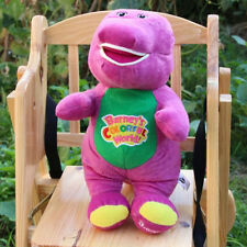 "Hot Singing Barney and Friends Barney 12"" I LOVE YOU Song PLUSH DOLL TOY Gift"
