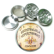 Ouija Board Ancient Egypt Metal Silver Aluminum Grinder D38 63mm Herb Spices