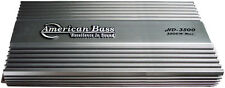 American Bass 3500W Class D Mono Block Car Audio Amplifier Amp