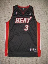 Miami Heat Dwyane Wade Black Adidas Swingman Jersey 3XL New!