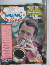 DANNY DAVIS CONWAY TWITTY DICKIE LEE FEBRUARY 1974 COUNTRY SONG ROUNDUP MAGAZINE