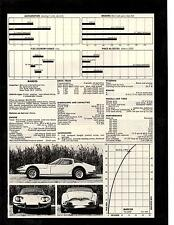 1970 MARCOS  ~  NICE ORIGINAL 4-PAGE ROAD TEST / ARTICLE / AD