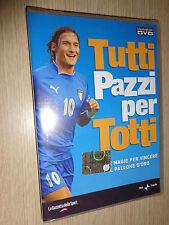 RARO DVD TUTTI PAZZI PER TOTTI GOL E MAGIE AS ROMA FRANCESCO CALCIO ITALIA