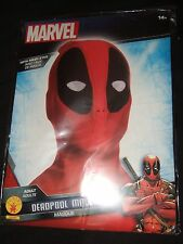 NIP Marvel Comics Deadpool Merc Face Halloween Mask Cosplay Mesh Eyes Disguise