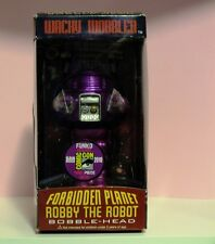 2010 SDCC  Purple  Forbidden Planet Robby The Robot Bobble Head Wacky Wobbler