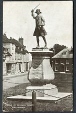 Posted 1922 View of the Statue of General Wolfe Westerham