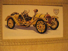 MERCER TYPE 35 RACEABOUT 5l 1914 BROOKE BOND TEA CARD History of Motor Car # 15