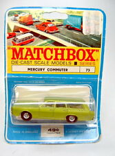 Matchbox RW 73C Mercury top auf rarer Blisterkarte