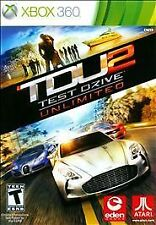 Test Drive Unlimited 2 GAME Microsoft Xbox 360 TDU TDU2