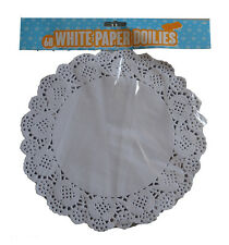 """60 Paper Party Doilies 9.5"""" Doily Lace Doyleys Catering Wedding Coasters Round"""