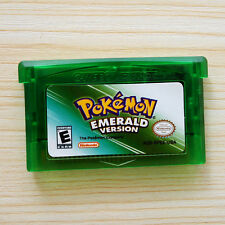 Pokemon EMERALD Game Card Gift Advance for Nintendo NDS/NDSL/GBC/GBM/GBA/SP