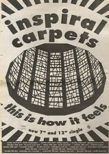 10/3/90Pgn60 Advert: Inspiral Carpets Single this Is How It Feels 15x11