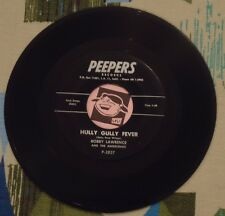 Bobby Lawrence & The Angelenos 45 Hully Gully Fever 1962 Doo Wop R&B Dance VG+